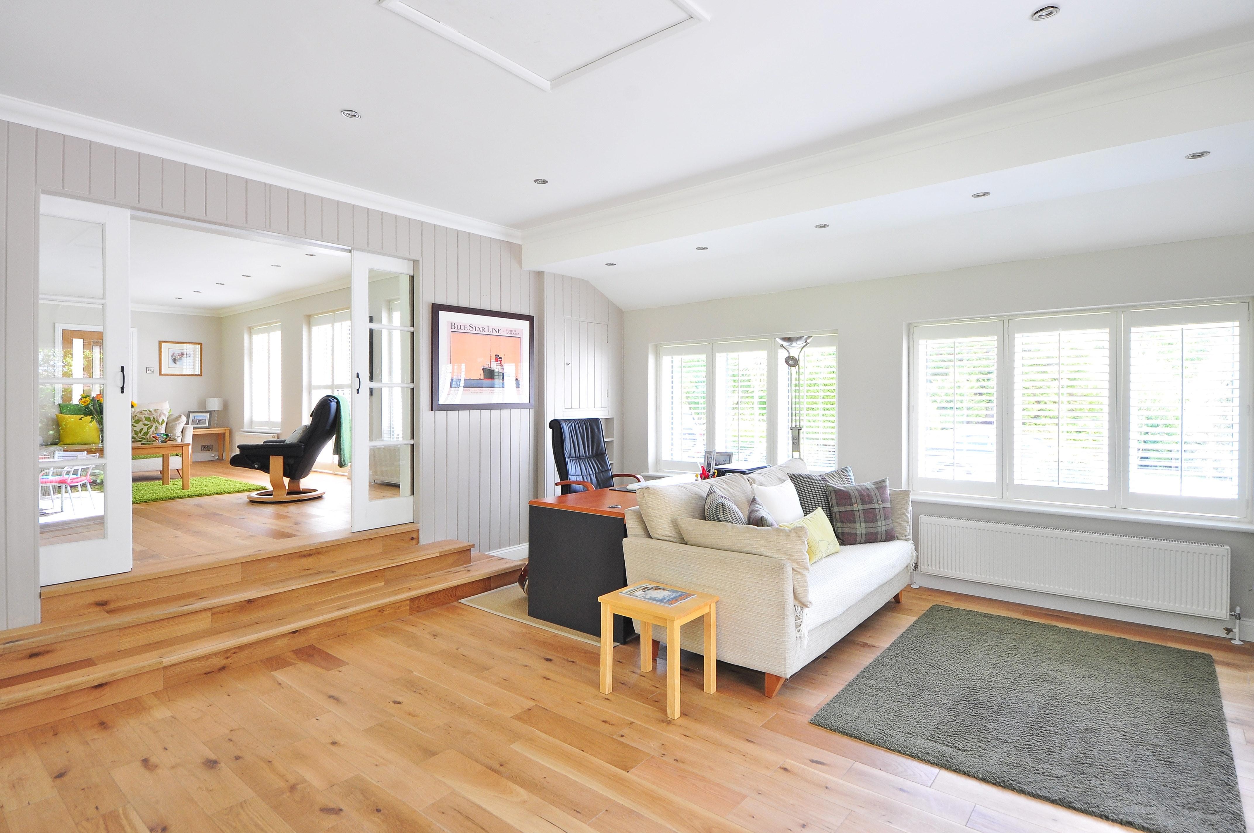 large living room wood flooring